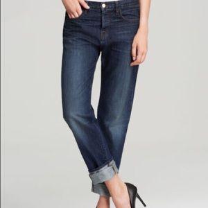 J Brand Aidan Ringer Slouchy Boyfriend Jeans